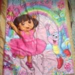 พร้อมส่งค่ะ Dora the explorer ผ้าห่ม quilted blanket สำหรับเตียงเดี่ยว