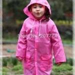 ลายกระต่าย เสื้อกันฝนเด็ก ส่วนสูง 95-120 ซม. เสื้อกันฝนลายการ์ตูน เนื้อผ้าโพลีเอสเตอร์อย่างดี กันฝนได้