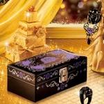 กล่องเครื่องประดับ Anna Sui Rouge Collection 2008 (ลายสีม่วง)