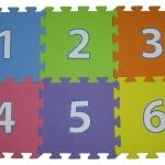 แผ่นรองคลานตัวเลข 0-9 แผ่นรองคลาน non toxic ยี่ห้อ Punapena สำเนา