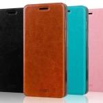 เคสหนังฝาพับ Asus Zenfone 4.5 ยี่ห้อ MOFi Leather Slim