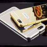 Luxury Mirror Bumper เคสกระจก Huawei Alex 4G Plus (Honor 4X)