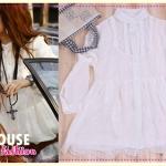 เสื้อแขนยาวแฟชั่น new Korean Women in Europe and America long lace (Preorder)