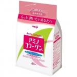 Meiji Amino Collagen (30วัน)ชนิดเติม เมจิ อะมิโนคอลาเจน คอลลาเจนผงขายดีในประเทศญี่ปุ่น ช่วยให้ผิวพรรณเต่งตึงเรียบเนียน ลดริ้วรอย ผิวขาวใส
