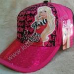 หมวกแก๊ปลายการ์ตูน Barbie 5