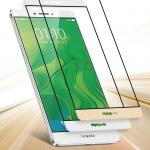 ฟิล์มกระจก (เต็มจอ) Tempered Glass สำหรับ Oppo R7 Lite