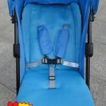 เบาะผ้ารองรถเข็นเด็ก หรือคาร์ซีท สีฟ้า