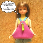 PWDEC58.DBag1-4 กระเป๋าเป้ผ้าหนัง