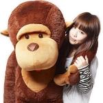 ตุ๊กตาลิงคิงคองตัวใหญ่ยักษ์ ขนาด 1.3 เมตร น่ารัก น่ากอด ขายาว แขนยาว หางยาวจ้า