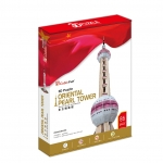 จิ๊กซอ 3 มิติ หอไข่มุกตะวันออก(Oriental Pearl Tower)