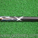 "NEW PROJECT X PXV 6.0 BLACK SHAFT 44"" FLEX S"