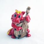 ตุ๊กตาเซรามิคมังกรนักดนตรี