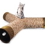 อุโมงค์แมวสามทาง ไซส์ใหญ่ มีเสียงก๊อบแก๊บ