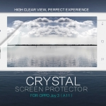 ฟิล์มใส ลดรอยนิ้วมือ Oppo Joy 3 เกรดพรีเมี่ยม ยี่ห้อ Nillkin Crystal Clear