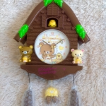 SALE SALE SALE พร้อมส่ง น่ารักไม่เหมือนใคร San-X rilakkuma meets honey wall clock