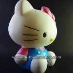 HELLO KITTY MONEY BOX -BLUE-