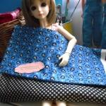 ผ้าอเมริกา27x45 cm+ ผ้าในไทย 50x55 cm