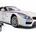 รถบังคับวิทยุ BMW Z4 GT3 Electric RC Car 1:18 DX RTR (White-Black)