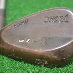 MIZUNO MP T-10 BLACK SATIN 54* SAND WEDGE DYNAMIC GOLD 9* BOUNCE