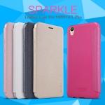 เคสหนังฝาพับ Oppo F1 Plus (R9) ยี่ห้อ Nillkin Sparkle Leather