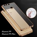 เคสบัมเปอร์ยางนิ่ม ขอบสีโครเมี่ยม Huawei P9 Lite