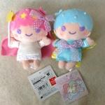 พร้อมส่งค่ะ น่ารักมากอีกแล้ว พวงกุญแจตุ๊กตา Little Twin Stars