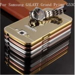 Luxury Mirror Cover with Bumper สำหรับ Samsung Galaxy Grand Prime