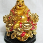 พระบูชาพระสังกัจจายน์ พระแห่งโชคลาภ องค์สีทองค่ะ