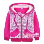 [Preorder] เสื้อแจ๊กเก็ตกันหนาวแขนยาวเด็ก Hello Kitty สีชมพูบานเย็นขาว The children installed new Korean girls cotton-padded clothes cotton-padded jacket coat padded Minnie kitty bunk velvet