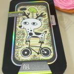 เคส iPhone 4 4s สกรีนนูน ลายกวาง (NIL Technology)