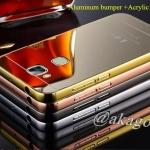 Luxury Mirror Case สำหรับ Huawei G7 Plus (Ascend G8)