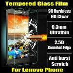 ฟิล์มกระจกนิรภัย Tempered Glass สำหรับ Lenovo Vibe X2