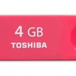 """Flash Drive 4GB """"TOSHIBA"""" (Enshu) USB 2.0"""