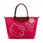 [Preorder] กระเป๋าถือแฟชั่น Hello Kitty สีบานเย็น Zhendian treasure waterproof bag swimming bag Hello Kitty cartoon fashion handbags shoulder bag shopping bag