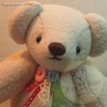 ตุ๊กตาหมีสีครีมขนาด 22 cm. - Ivy