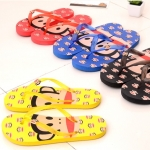 [Preorder] รองเท้าแตะ Paul Frank คละสีคละไซส์ (10 คู่/แพ็ค) wholesale high quality cartoon flip flops sandals slippers non-slip plastic sandals male and female couple
