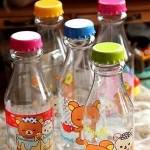 San-x Rilakkuma non BPA bottle food grade คละแบบคละสี