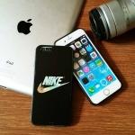 เคส Nike ไอโฟน 5/6/7 ลายพิมพ์นูน