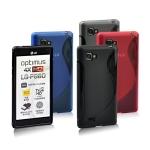 เคสยางนิ่ม LG Optimus 4X-HD [P880] รุ่น TPU S-Curve Soft