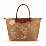 [Preorder] กระเป๋าถือแฟชั่น Hello Kitty สีกากี Zhendian treasure waterproof bag swimming bag Hello Kitty cartoon fashion handbags shoulder bag shopping bag