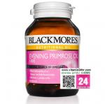 Blackmores Evening Primrose Oil 1000 mg แบลคมอร์ส อีฟนิ่ง พริมโรส บรรจุ 60 แคปซูล