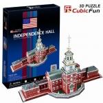จิ๊กซอ 3 มิติ หอแห่งอิสรภาพ(Independence Hall)(No.C120h)