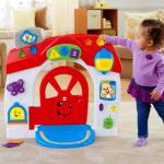 ประตูบ้าน fisher price รุ่นล่าสุด Laugh & Learn® Smart Stages™ Home มีเพลง 75 เพลงเลยค่ะ (ดูคลิปวีดีโอกดที่ภาพสินค้า)
