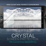 """ฟิล์มใส ลดรอยนิ้วมือ Asus Zenfone 2 Selfie 5.5"""" (ZD551KL) เกรดพรีเมี่ยม ยี่ห้อ Nillkin Crystal Clear"""