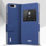 เคสหนังฝาพับตั้งได้ Huawei Honor 6 Plus ยี่ห้อ MOFi Leather Standing