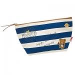 พร้อมส่งค่ะ น่ารักมากๆ Rilakkuma sailor stripe make up pouch