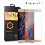 ฟิล์มกระจก (เต็มจอ) Tempered Glass สำหรับ Huawei P8