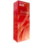 Berina เบอริน่า ครีมย้อมผม A20 สีแดงทับทิม