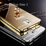 Luxury Mirror Case with Aluminium Bumper สำหรับ Samsung Galaxy Note 3