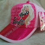 หมวกแก๊ปลายการ์ตูน Barbie 6
